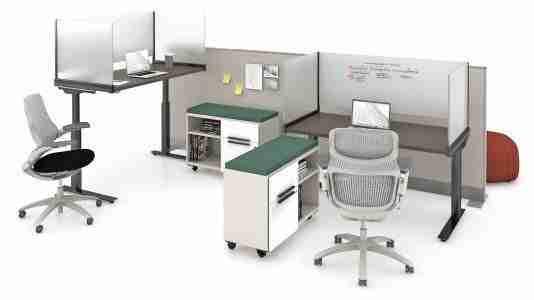 antenna desk surrounds glass laminate k. stand generation task chair dividends horizon mobile storage